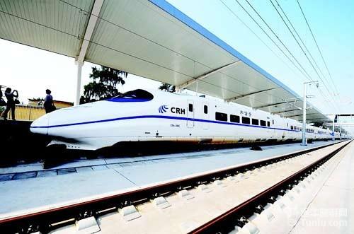 2012年底北京到多数省会城市坐高铁8小时内可到