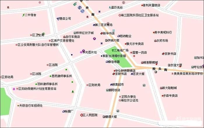 【海拉尔旅游攻略】海拉尔旅游地图_内蒙古旅