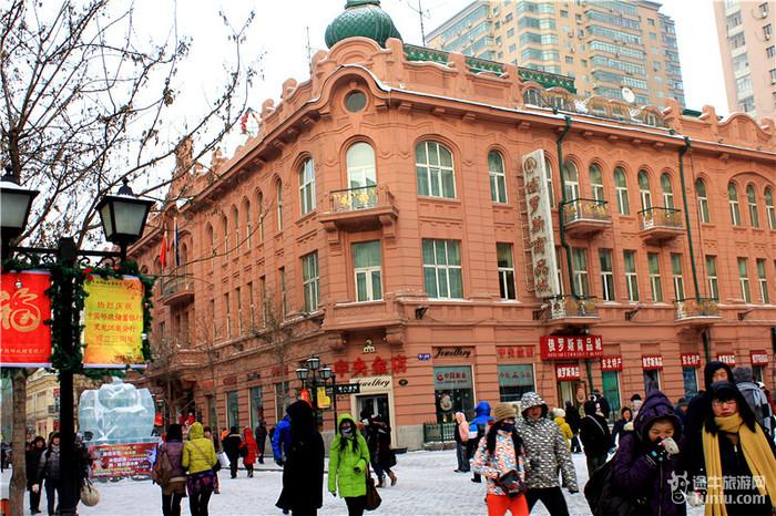 哈尔滨的欧式建筑气势非常多